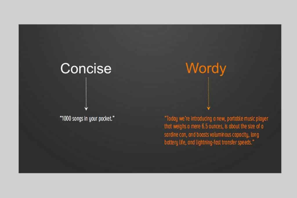 Minimize long content to increase readability