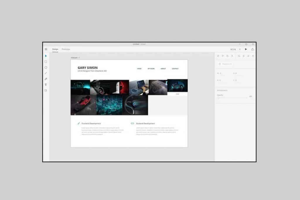 A mock up layout allows you to see how a web page will actually look like