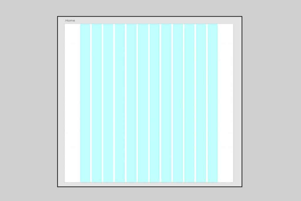 Layout grid enables you to align each component on a web page
