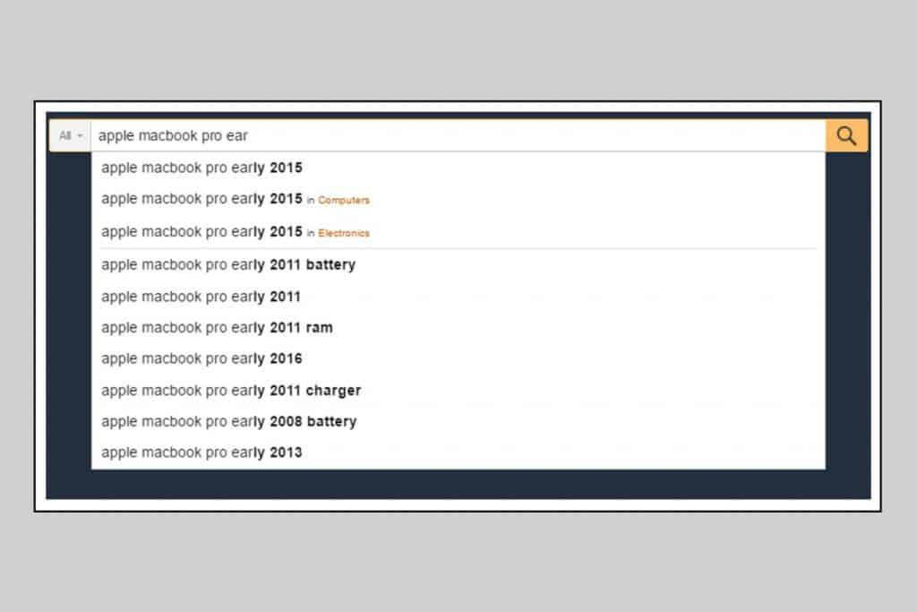 Large Search Box helps to show a long search query