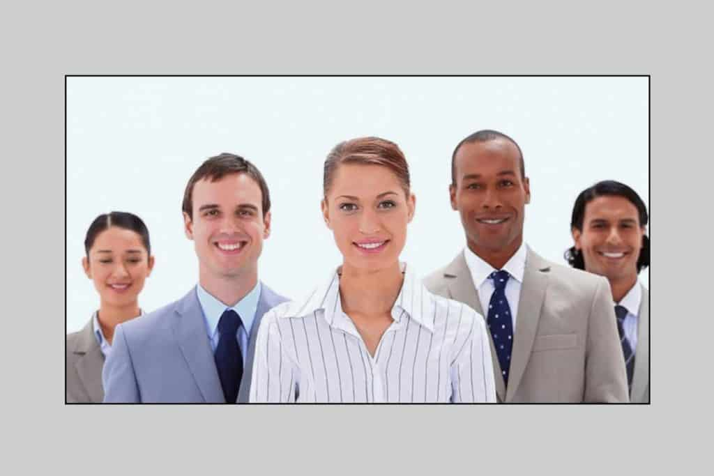 Using stock images of generic people will lessen your trust among users