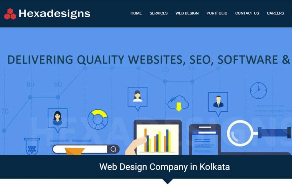 Top web development company in Kolkata - HexaDesigns