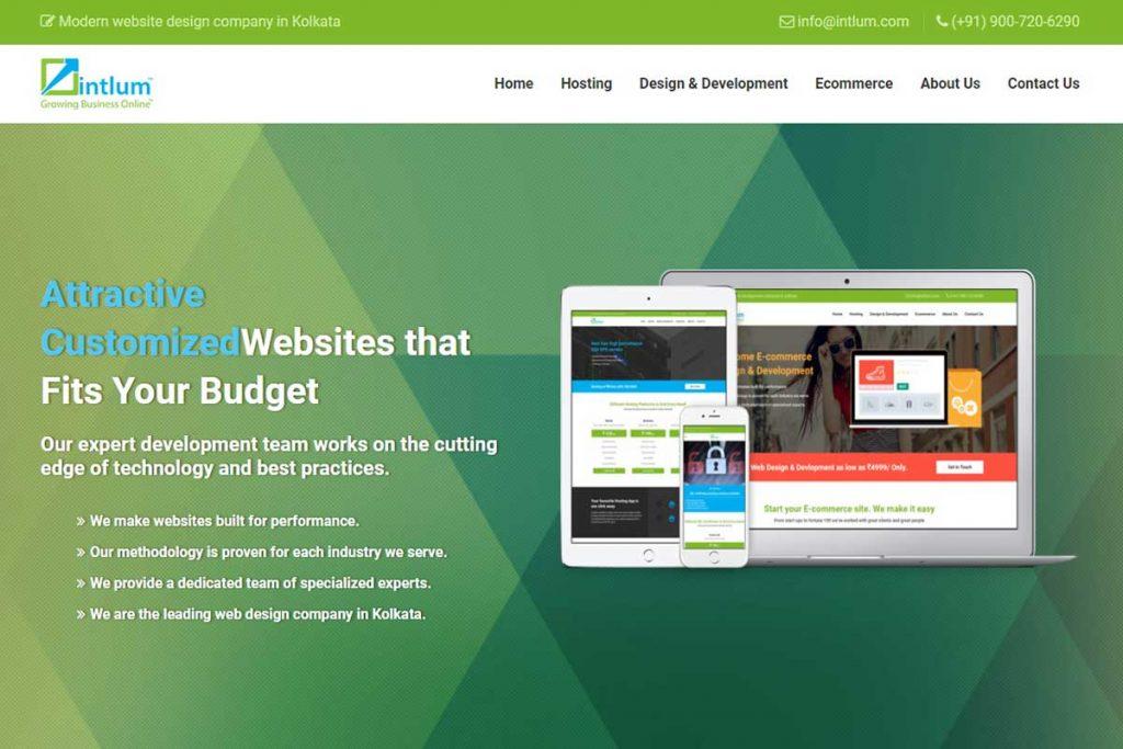 Best website design company in India