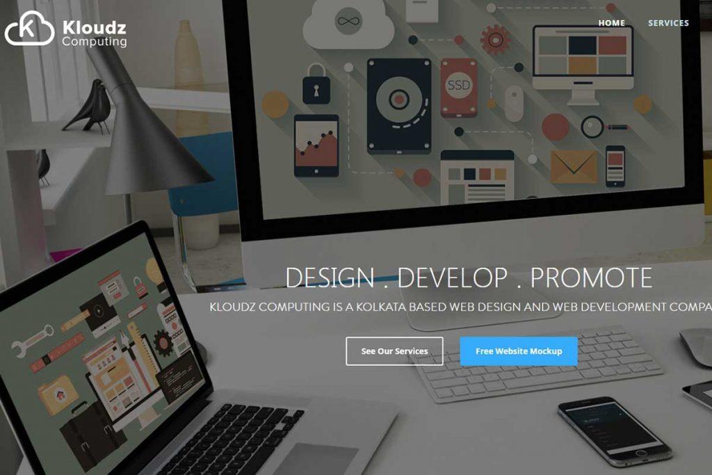 Top Website Development company in Kolkata - Kloudz Computing