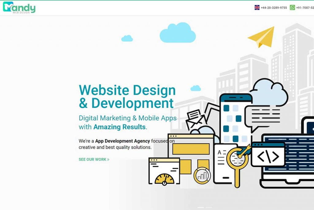 Mandy Web Design - Top IT Firms in India