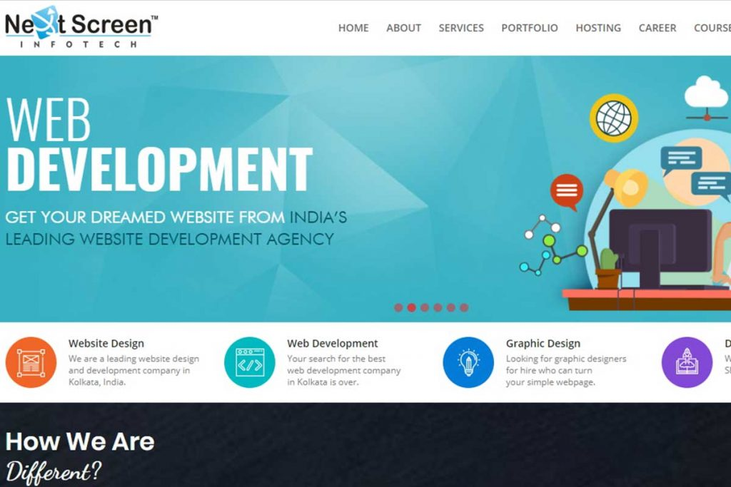 Affordable website design company in Kolkata