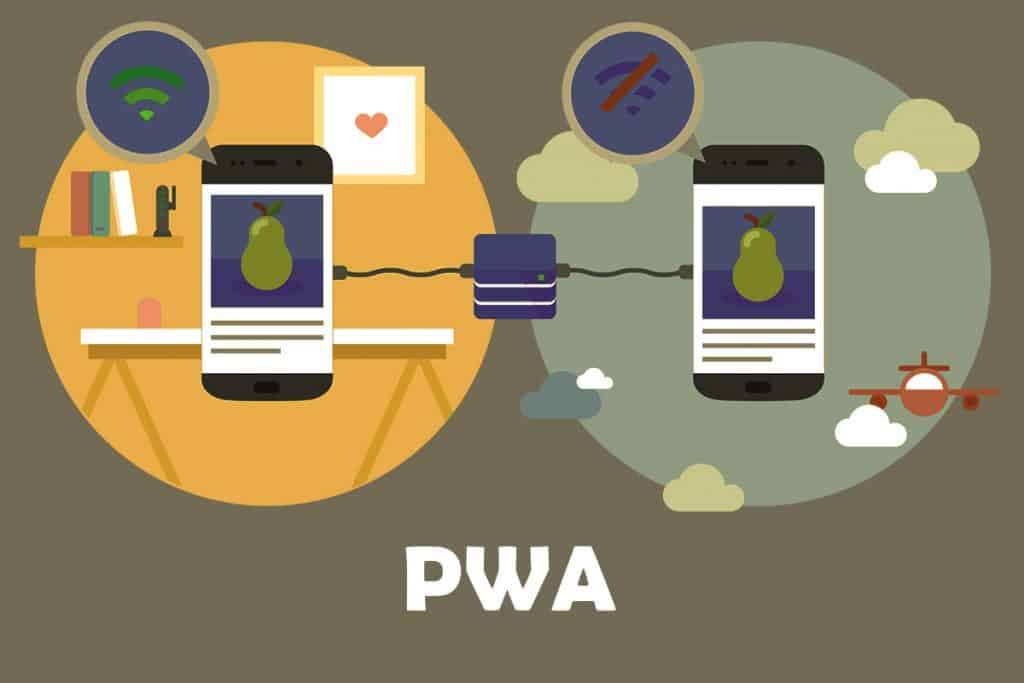 PWA - Top web development trends in 2018