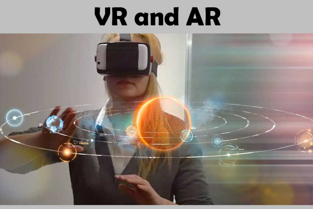 VR and AR - Web development trends in 2018