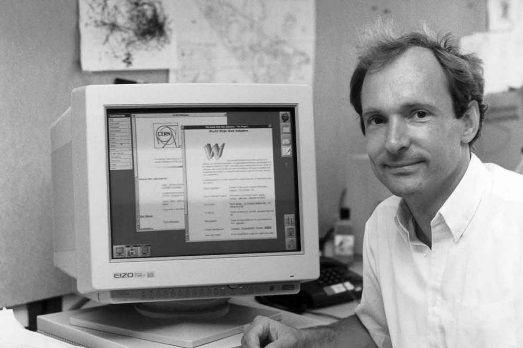 Tim Berners Lee - Founder of the Internet