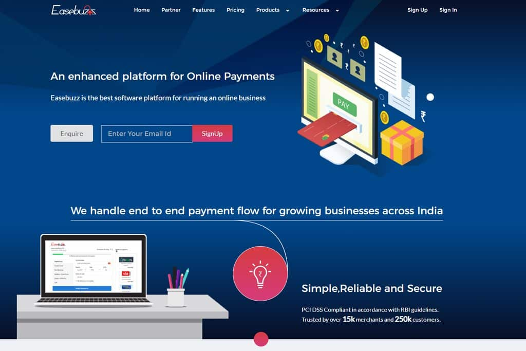 Easebuzz Payment Gateway