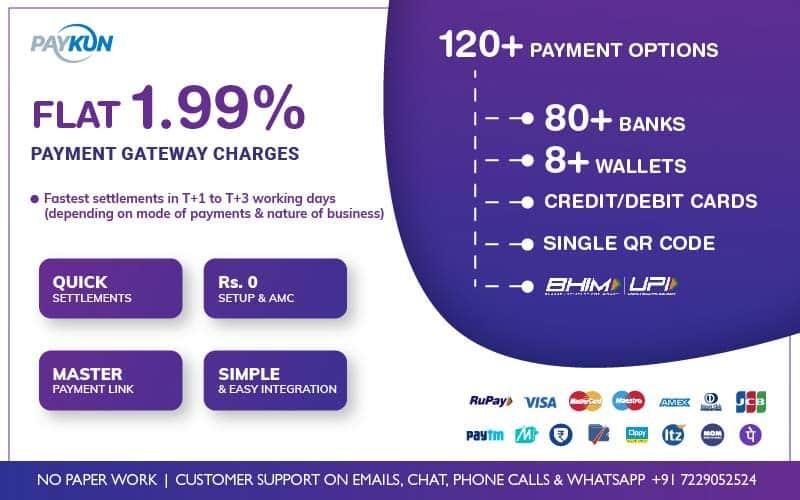 PayKun Payment Gateway Service in India