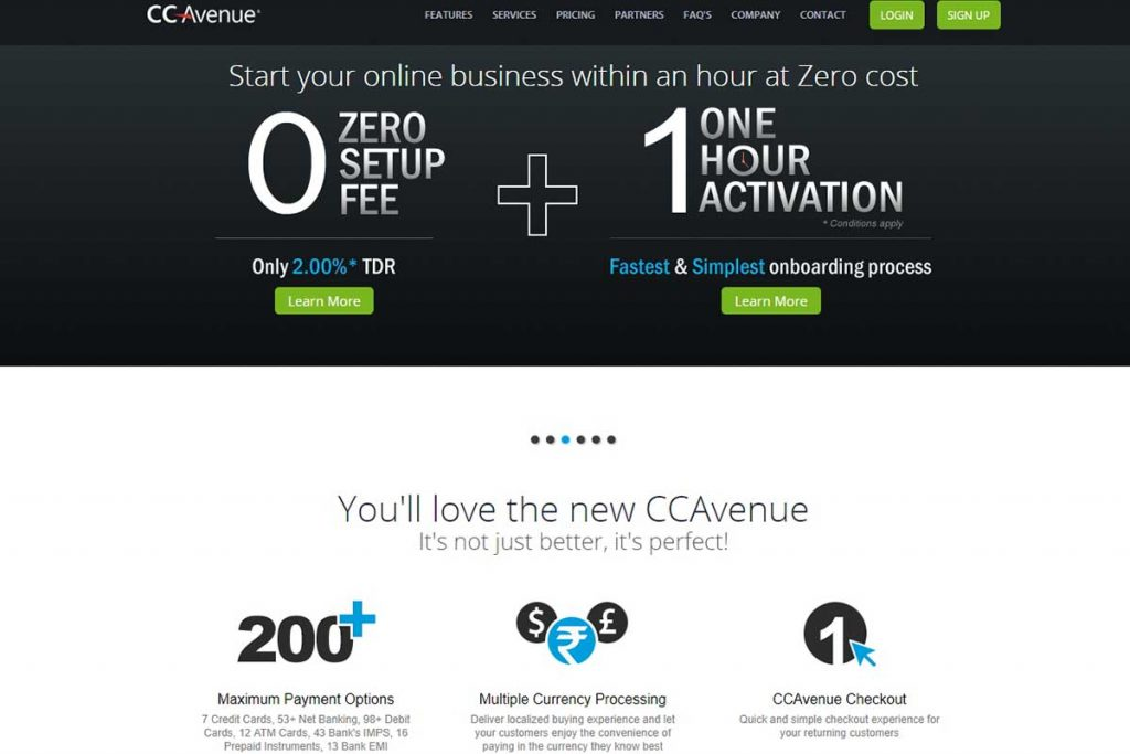 CCAvenue - Best Payment Gateways in India