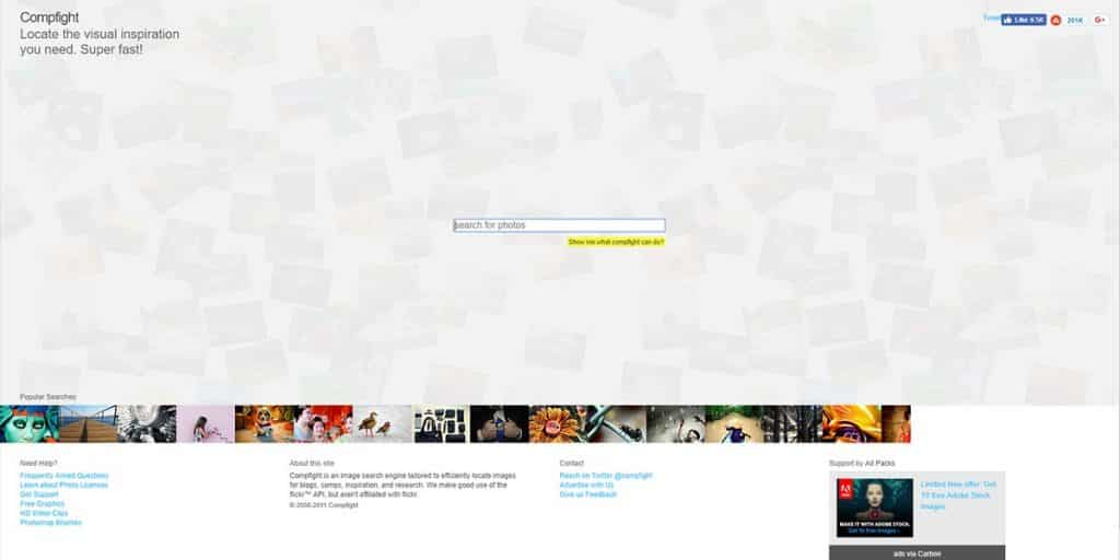 Compfight - Free Stock Image Providing Tool