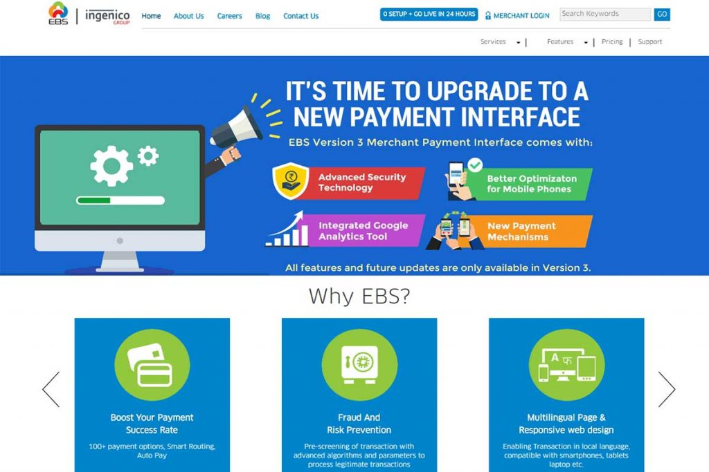 EBS - Best Indian Payment Gateways