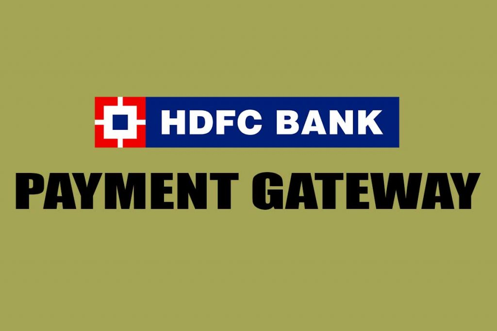 HDFC Payment Gateway - Top Payment Gateways for Big Businesses