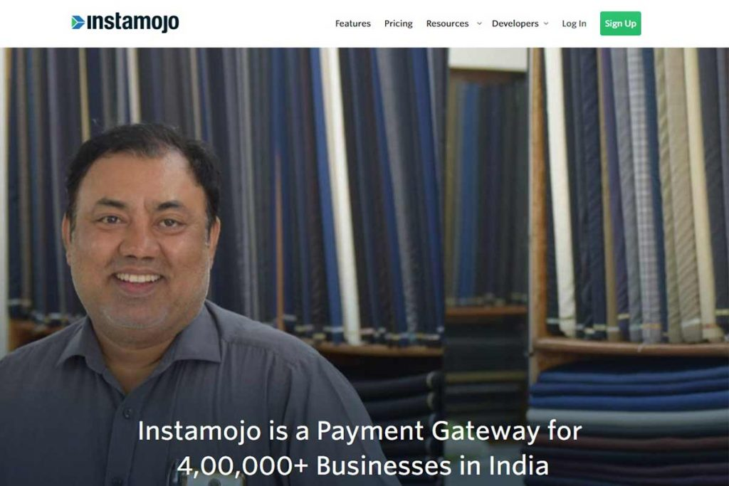 Instamojo - Top Indian Payment Gateways