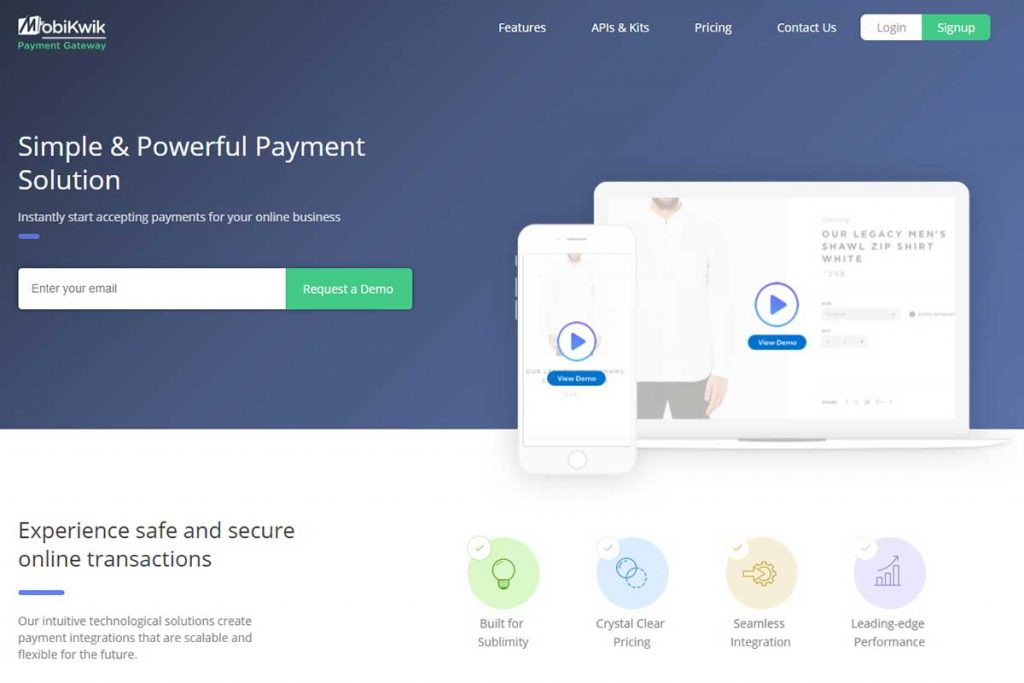 Mobikwik Payment Gateway - Payment Gateways in India