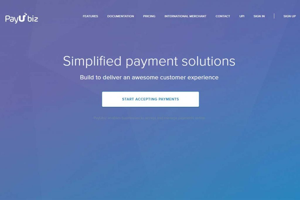 PayUbiz - Top Payment Gateways