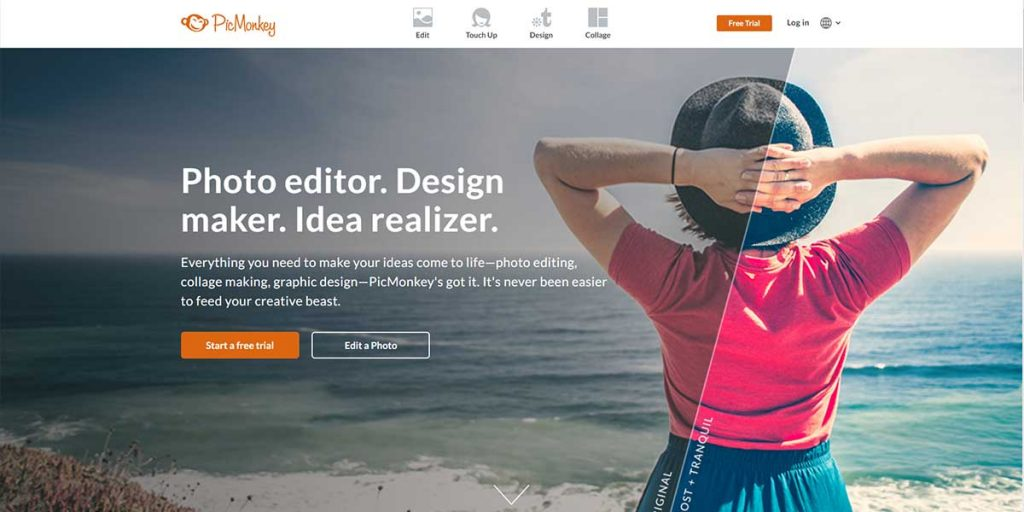 PicMonkey - Pro-Level Online Graphic Design Tool for Free