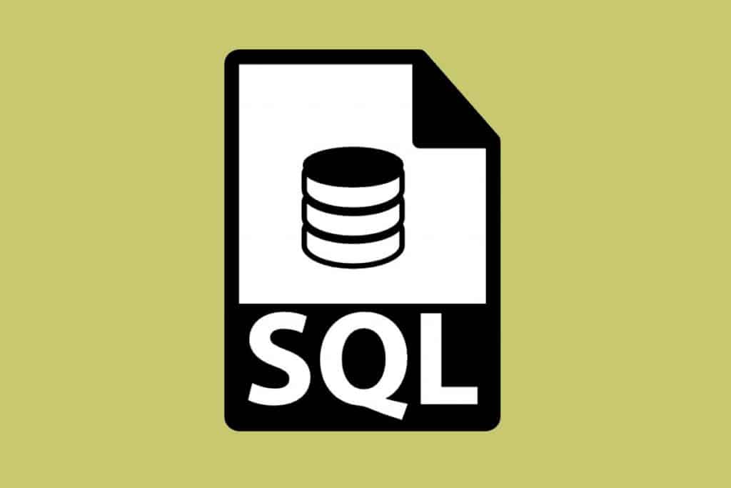 SQL - Top Web Programming Languages