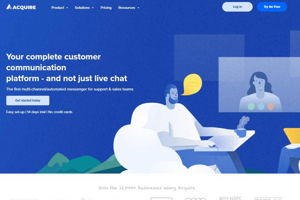Acquire.IO - Top Website Chatting Apps Online
