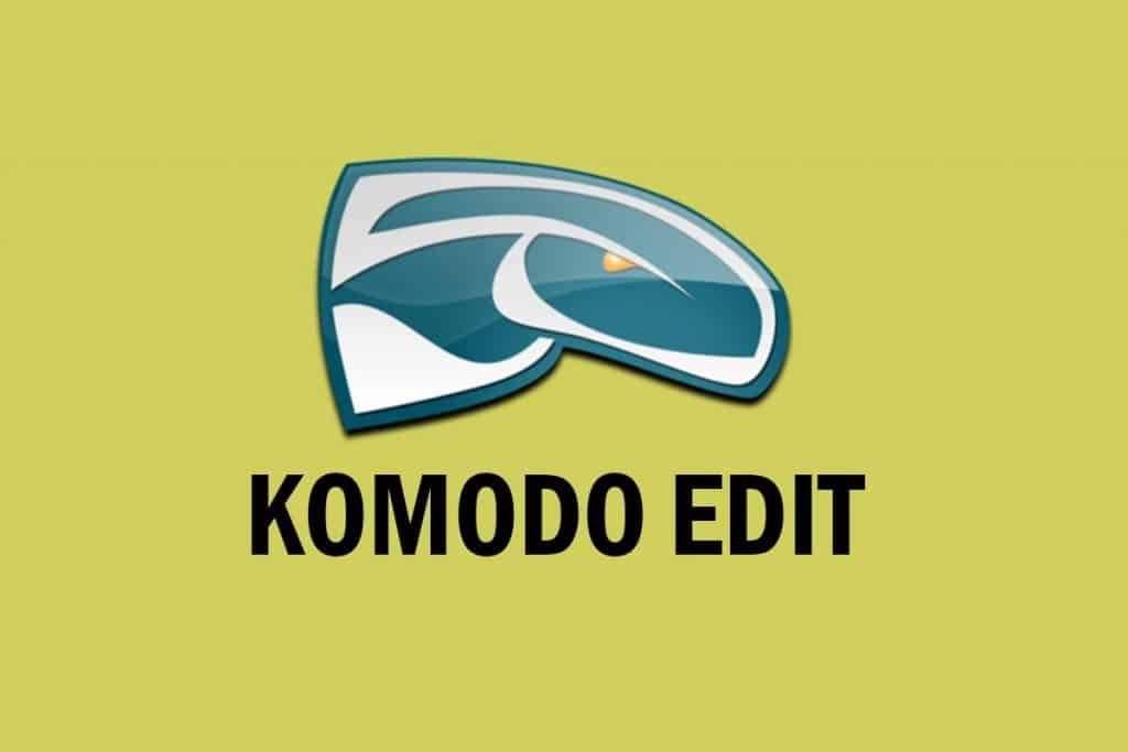 Komodo Edit - Top HTML Editors