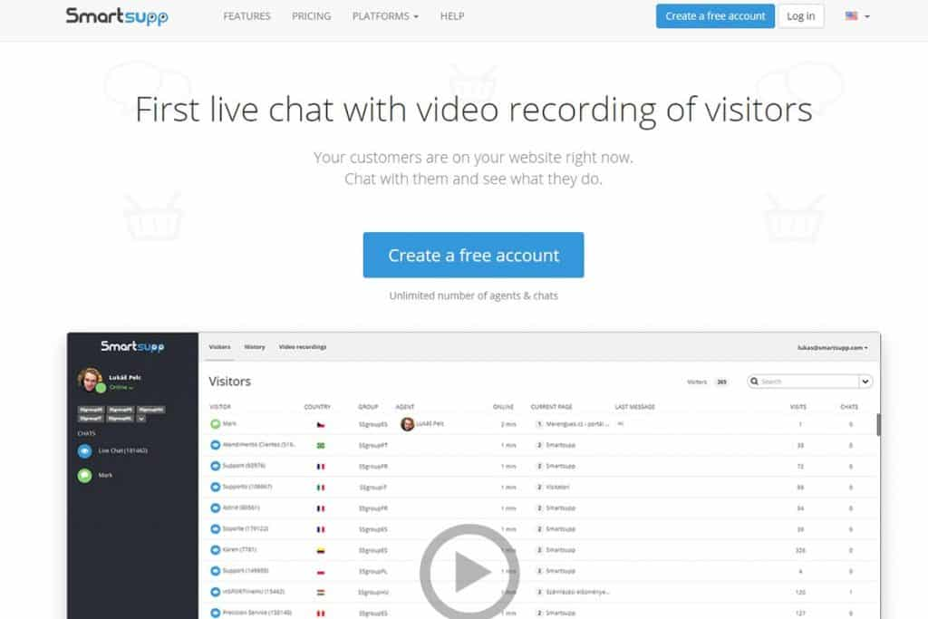Smartsupp - Free Website Chatting Apps Online