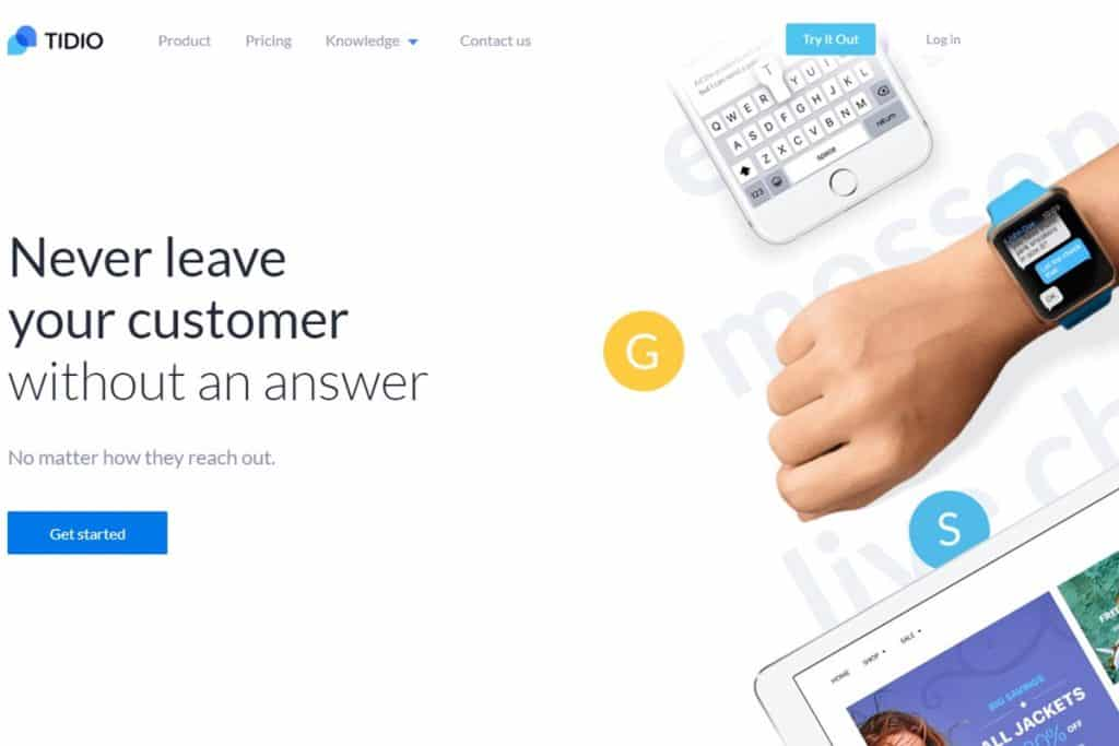 Tidio Chat - Best Free Website Chatting App Online