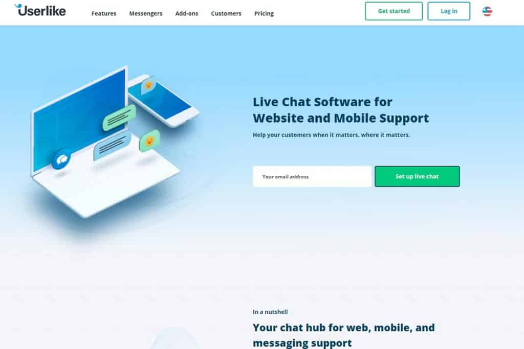 Userlike - Top Live Chat Software for Website