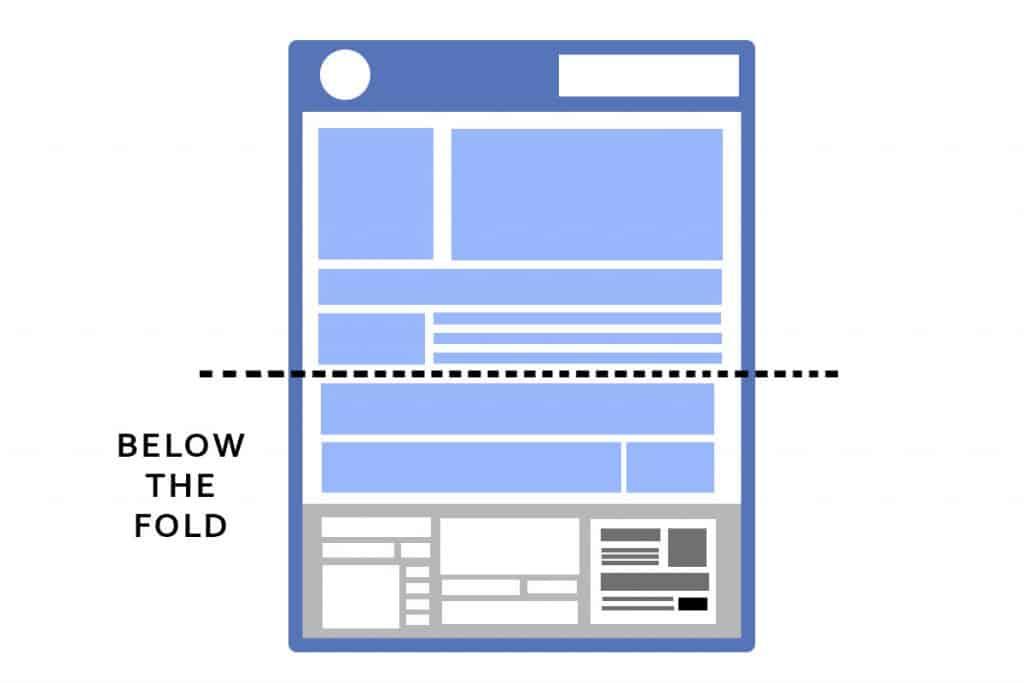 Below the Fold Web Design