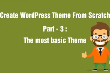 The most basic wordpress Theme