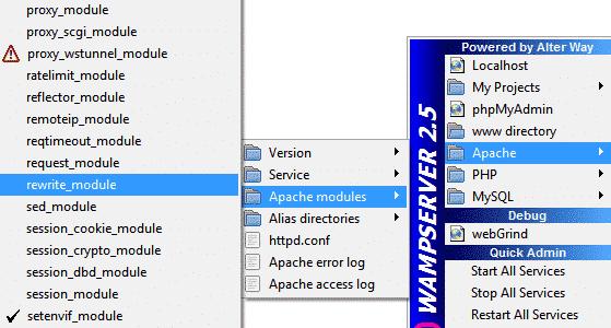 rewrite module