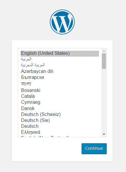 wp select language
