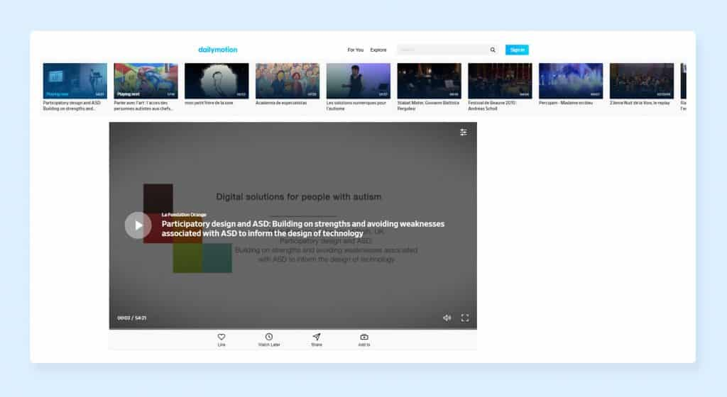 Reduce Page Loading Time by Dailymotion Video Integration