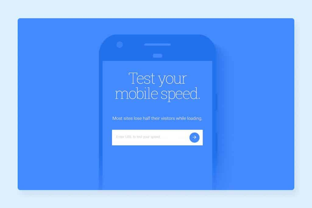 google Test My Site for Mobile Page Speed Audit