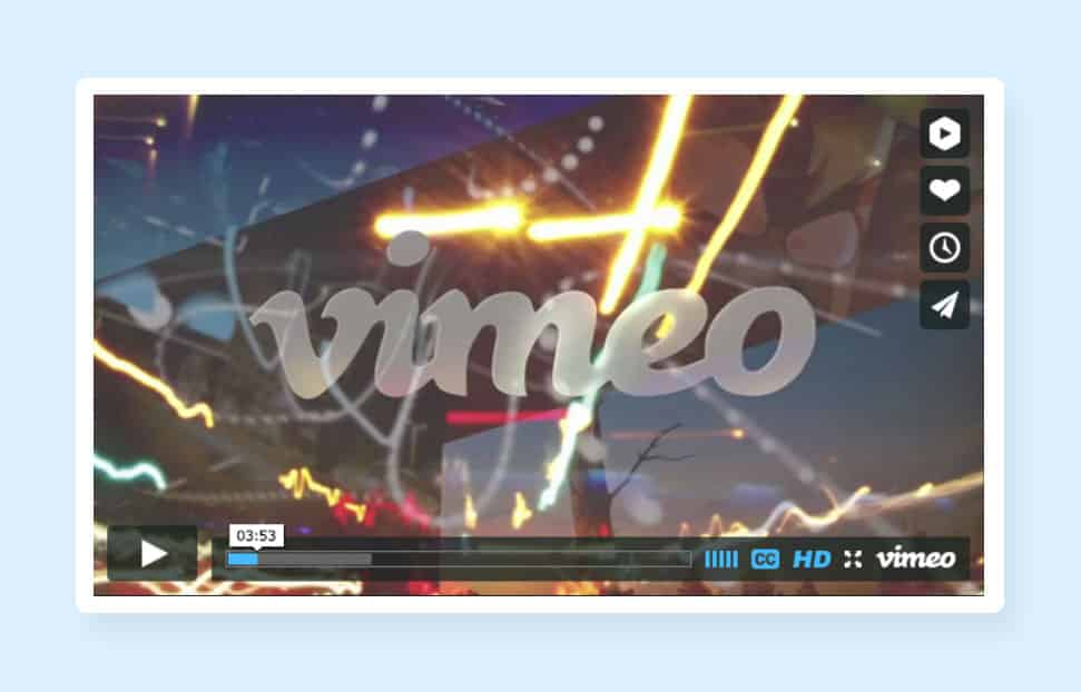 Vimeo Video Integration to Reduce Website Loading Time