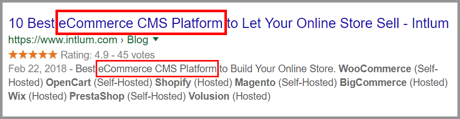 Engaging Title and Description with Keyword