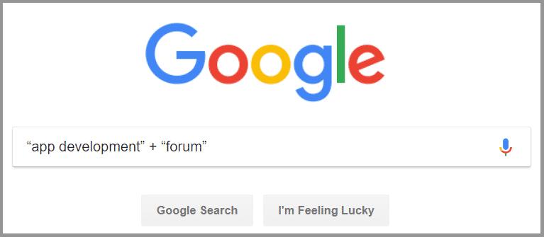 Forum - Keyword Research Technique