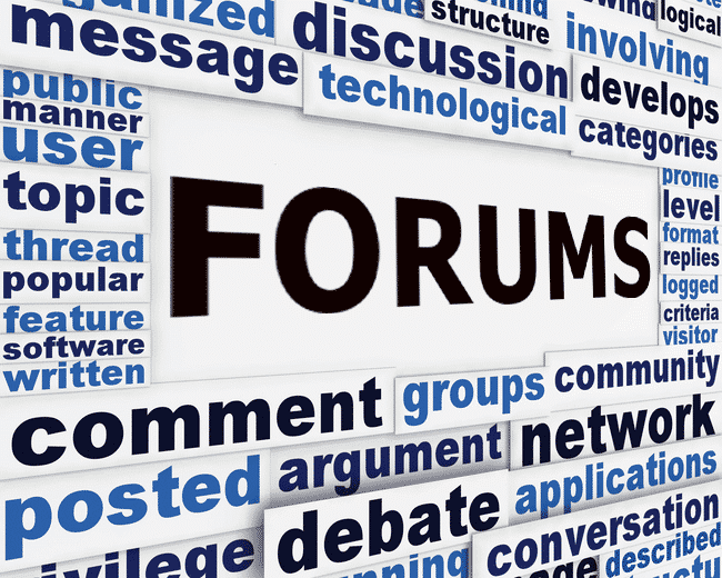 Forums and Communities
