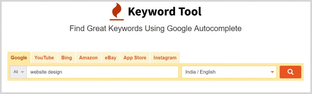 KeywordTool IO - Seed Keyword