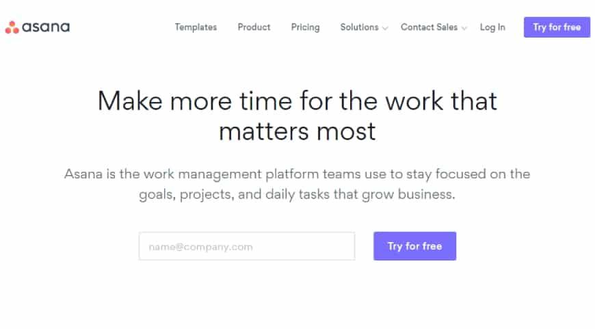 Asana - project management software