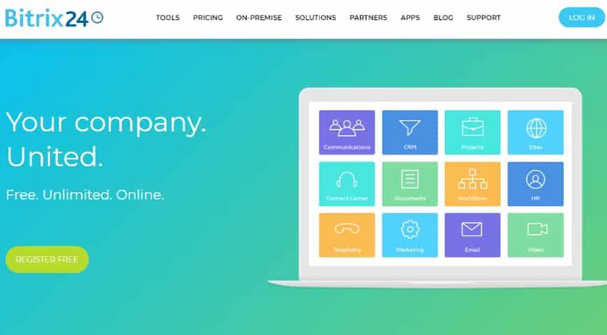 Bitrix24 - project management app