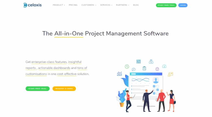 Celoxis - Project Management Tool