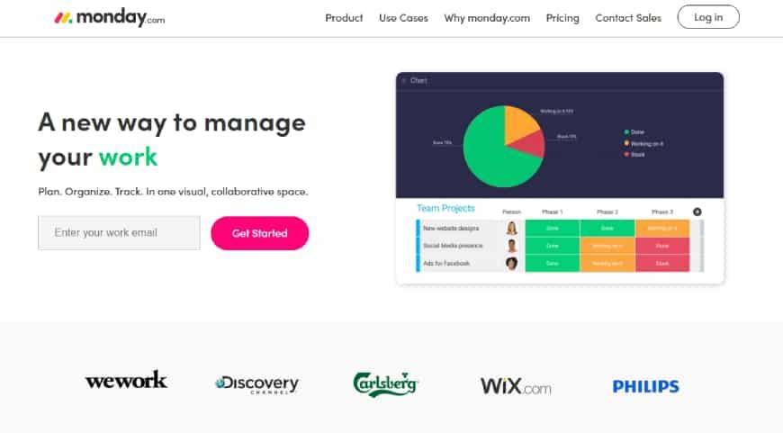 Monday.Com - Project management tool