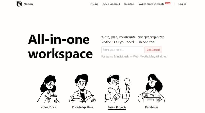 Notion - Team Collaboration Software