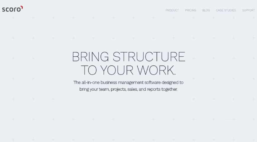 Scoro - business management tool