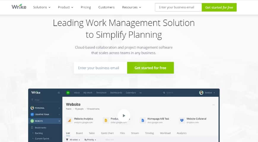 Wrike - Project management app