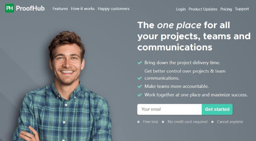 Proofhub - task management software