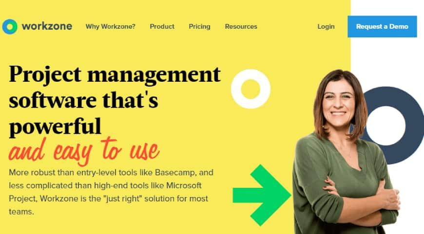 Workzone - business management app