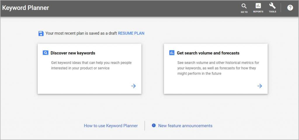 Google Keyword Planner - Best Free SEO tool for Keyword Research